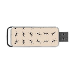 Ants Pattern Portable Usb Flash (two Sides)