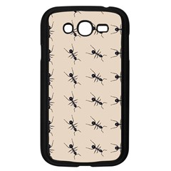 Ants Pattern Samsung Galaxy Grand Duos I9082 Case (black) by BangZart