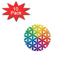 Heart Energy Medicine 1  Mini Magnet (10 Pack)  by BangZart