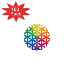 Heart Energy Medicine 1  Mini Magnets (100 Pack)  by BangZart