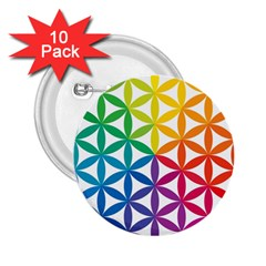 Heart Energy Medicine 2 25  Buttons (10 Pack)