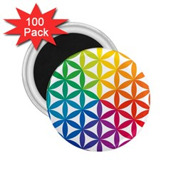 Heart Energy Medicine 2 25  Magnets (100 Pack)  by BangZart
