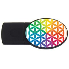 Heart Energy Medicine Usb Flash Drive Oval (4 Gb) by BangZart