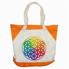 Heart Energy Medicine Accent Tote Bag by BangZart