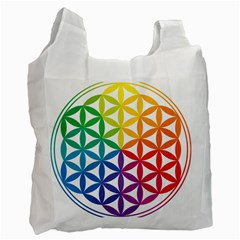 Heart Energy Medicine Recycle Bag (one Side) by BangZart