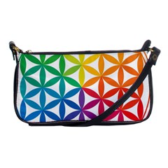 Heart Energy Medicine Shoulder Clutch Bags by BangZart