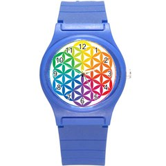 Heart Energy Medicine Round Plastic Sport Watch (s) by BangZart