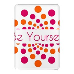 Be Yourself Pink Orange Dots Circular Samsung Galaxy Tab Pro 12 2 Hardshell Case by BangZart