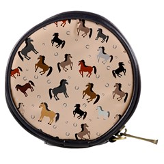 Horses For Courses Pattern Mini Makeup Bags by BangZart