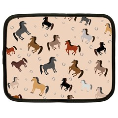 Horses For Courses Pattern Netbook Case (xxl)  by BangZart