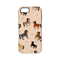 Horses For Courses Pattern Apple Iphone 5 Classic Hardshell Case (pc+silicone) by BangZart