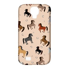 Horses For Courses Pattern Samsung Galaxy S4 Classic Hardshell Case (pc+silicone)
