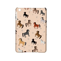 Horses For Courses Pattern Ipad Mini 2 Hardshell Cases by BangZart