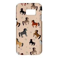 Horses For Courses Pattern Samsung Galaxy S7 Hardshell Case