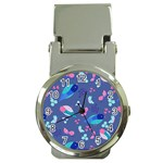 Birds And Butterflies Money Clip Watches Front