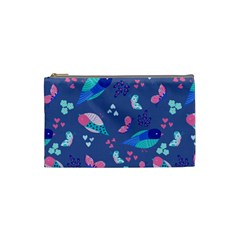 Birds And Butterflies Cosmetic Bag (small)  by BangZart