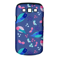 Birds And Butterflies Samsung Galaxy S Iii Classic Hardshell Case (pc+silicone)