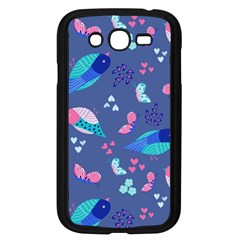 Birds And Butterflies Samsung Galaxy Grand Duos I9082 Case (black)