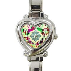 Several Wolves Album Heart Italian Charm Watch by BangZart