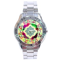 Several Wolves Album Stainless Steel Analogue Watch by BangZart