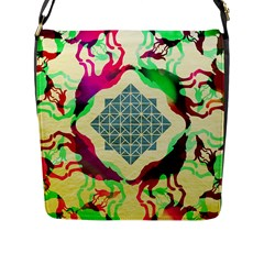 Several Wolves Album Flap Messenger Bag (l)  by BangZart