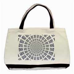 Illustration Binary Null One Figure Abstract Basic Tote Bag by BangZart