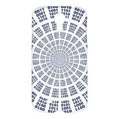 Illustration Binary Null One Figure Abstract Samsung Galaxy S4 I9500/i9505 Hardshell Case by BangZart