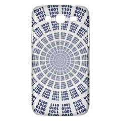 Illustration Binary Null One Figure Abstract Samsung Galaxy Mega 5 8 I9152 Hardshell Case