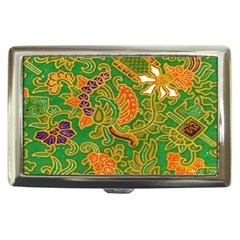 Art Batik The Traditional Fabric Cigarette Money Cases by BangZart