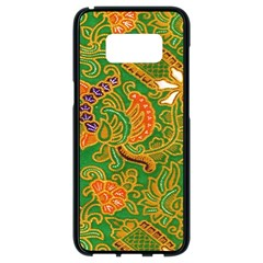 Art Batik The Traditional Fabric Samsung Galaxy S8 Black Seamless Case by BangZart