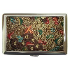 Art Traditional Flower  Batik Pattern Cigarette Money Cases by BangZart