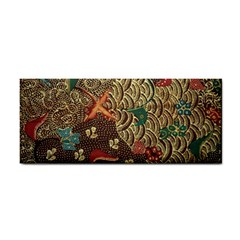 Art Traditional Flower  Batik Pattern Cosmetic Storage Cases by BangZart