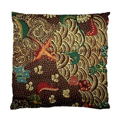 Art Traditional Flower  Batik Pattern Standard Cushion Case (two Sides) by BangZart