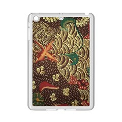 Art Traditional Flower  Batik Pattern Ipad Mini 2 Enamel Coated Cases by BangZart