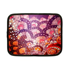 Colorful Art Traditional Batik Pattern Netbook Case (small)  by BangZart