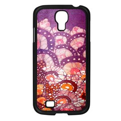 Colorful Art Traditional Batik Pattern Samsung Galaxy S4 I9500/ I9505 Case (black) by BangZart