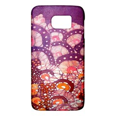 Colorful Art Traditional Batik Pattern Galaxy S6 by BangZart