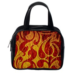 Abstract Pattern Classic Handbags (one Side) by BangZart
