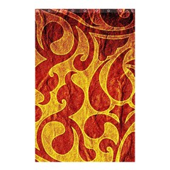 Abstract Pattern Shower Curtain 48  X 72  (small)  by BangZart
