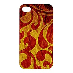 Abstract Pattern Apple Iphone 4/4s Premium Hardshell Case by BangZart
