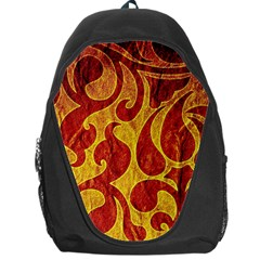 Abstract Pattern Backpack Bag