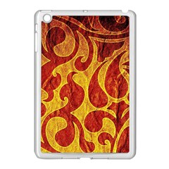 Abstract Pattern Apple Ipad Mini Case (white) by BangZart