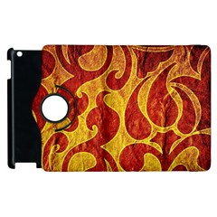 Abstract Pattern Apple Ipad 2 Flip 360 Case by BangZart