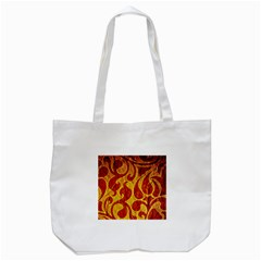 Abstract Pattern Tote Bag (white) by BangZart