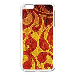 Abstract Pattern Apple Iphone 6 Plus/6s Plus Enamel White Case by BangZart