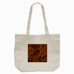 Art Traditional Batik Flower Pattern Tote Bag (cream) by BangZart