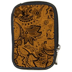 Art Traditional Batik Flower Pattern Compact Camera Cases by BangZart