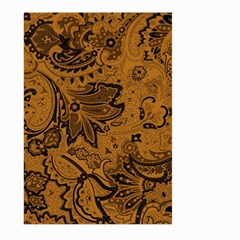 Art Traditional Batik Flower Pattern Large Garden Flag (two Sides) by BangZart