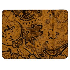 Art Traditional Batik Flower Pattern Samsung Galaxy Tab 7  P1000 Flip Case