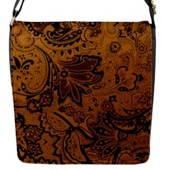Art Traditional Batik Flower Pattern Flap Messenger Bag (s) by BangZart